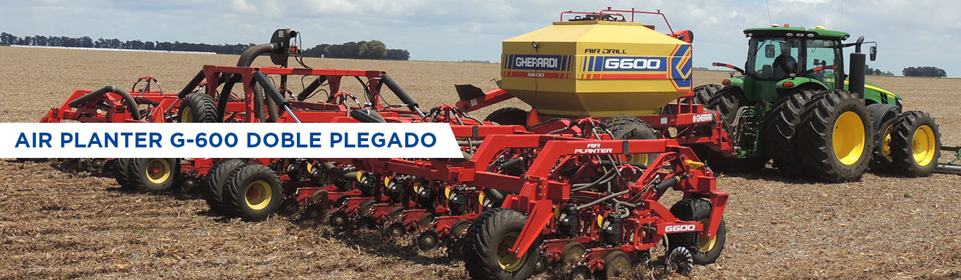 Air Planter G-600 Doble Plegado - 16.80 mts