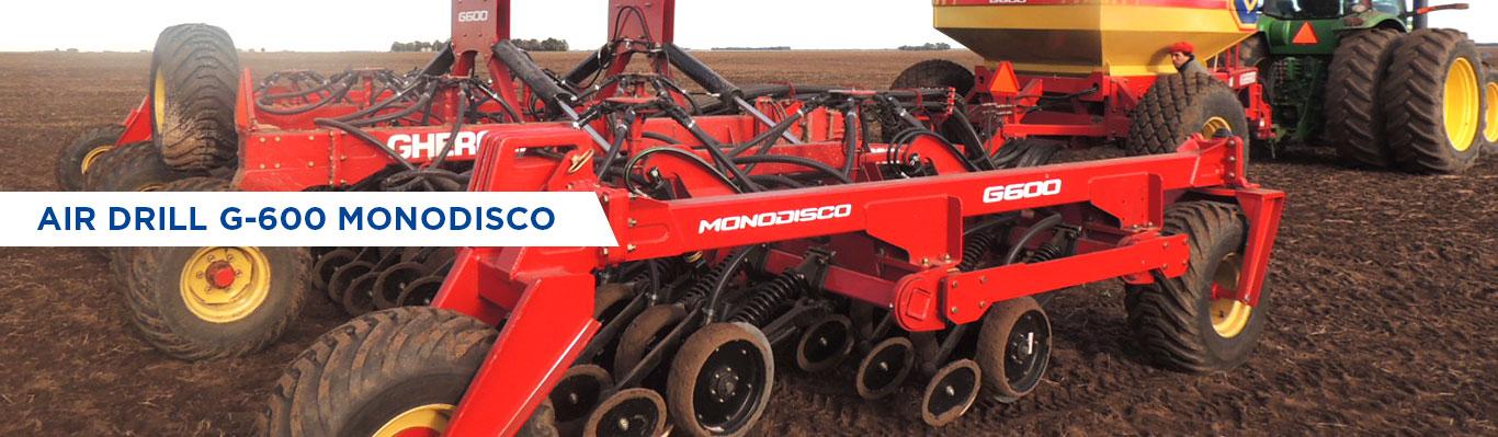 AIR DRILL G-600 MONODISCO